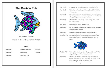 The Rainbow Fish Reader's Theater