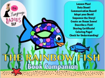 The Rainbow Fish Adapted Worksheets Teaching Resources Tpt