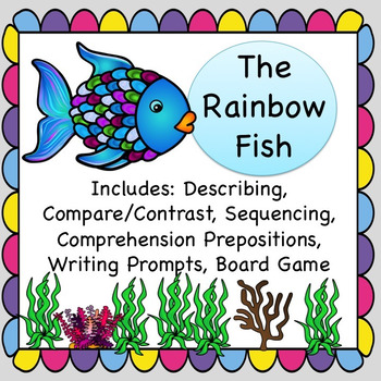 The Rainbow Fish Speech Worksheets Teaching Resources TpT