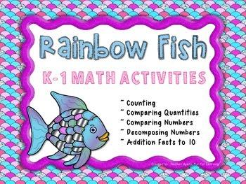 The Rainbow Fish {K-1 Math Activities}