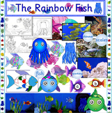 The Rainbow Fish book study activity pack