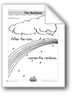The Rainbow (letter/sound association for 'r')