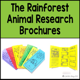 The Rainforest Animal Research Brochures