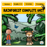 All About the Rainforest with Layers of the Rainforest & R
