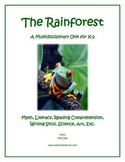 """The Rainforest"" Math and Literacy Unit - Aligned with Common Core Standards"