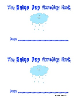 The Rainy Day Counting Book