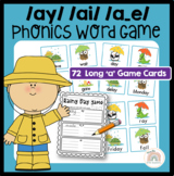 The Rainy Day Game! An {ai} {ay} or {a_e} Word Work Activity