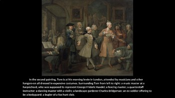 The Rake's Progress PowerPoint - William Hogarth
