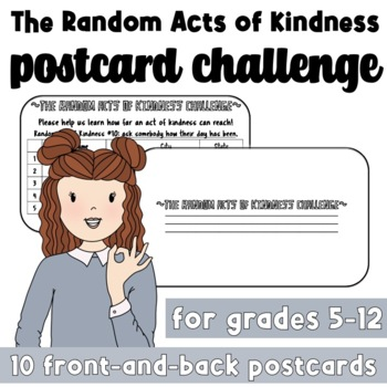 The Random Acts of Kindness Postcard Challenge