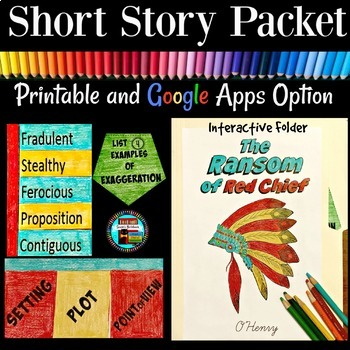 The Ransom of Red Chief Short Story Pack with Interactive Folder