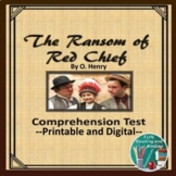 The Ransom of Red Chief TEST Distance Learning