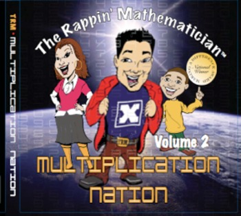 The Rappin' Mathematician: Multiplication Nation CD