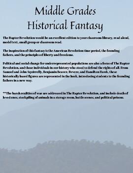 The Raptor Revolution Save Christmas Mountain FREE Educator's Guide Novel Study