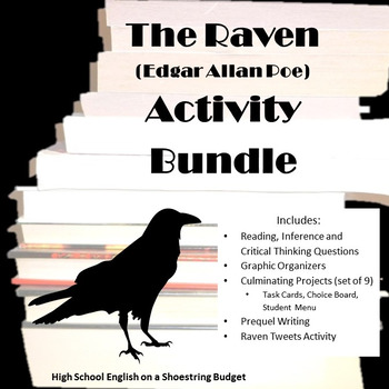 essay on edgar allan poes the raven Of its first publication in 1845, edgar allan poes poem the raven has been an element in american cultural influencing the publi 'the raven' by edgar allan poe in five pages 'the raven' is subjected to a poetic explication and a thesis that poe's life is reflected in this haunting poem.