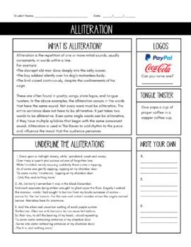 The Raven: Alliteration, Assonance, and Consonance