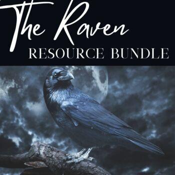 The Raven BUNDLE- Lesson Plan, Study Guide, Quiz