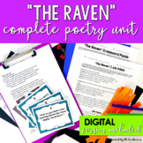 The Raven by Edgar Allan Poe Complete Poetry Unit