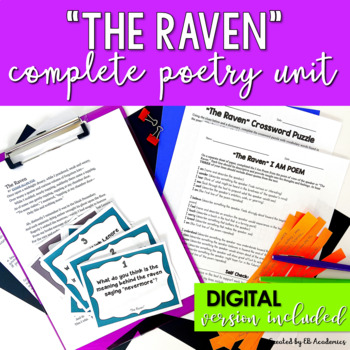 The Raven Complete Unit (Edgar Allan Poe)