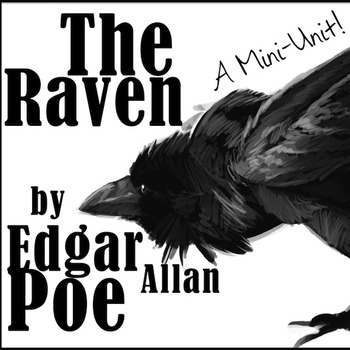 the raven edgar allan poe a mini unit by all day ela teachers pay teachers. Black Bedroom Furniture Sets. Home Design Ideas