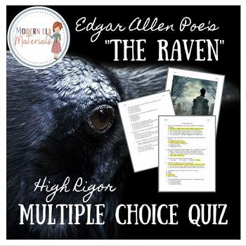 The Raven Multiple Choice PARCC Style Quiz