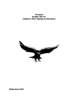 """The Raven""  Reader's Theater Script"