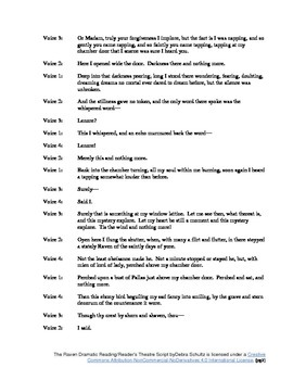 The Raven Reader's Theatre Scripts