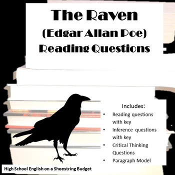 The Raven Reading Questions (Edgar Allan Poe)
