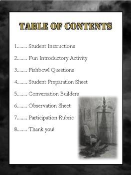 The Raven Socratic Seminar Lesson & Materials