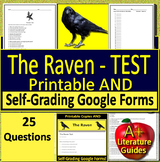 The Raven Test - Printable AND Online, Self-Grading