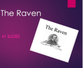 The Raven- Text and Literary Elements in PPT form - Close Reading