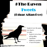 The Raven Tweets Activity (Edgar Allan Poe)