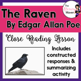 The Raven by Edgar Allan Poe: Close Reading, Constructed R