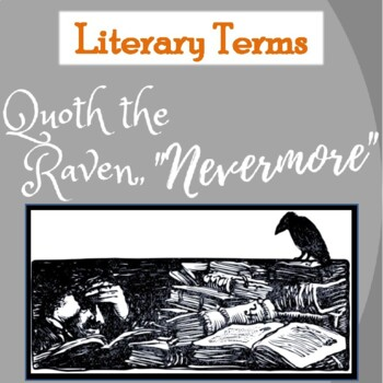 """""""The Raven"""" by Edgar Allan Poe: Glossary of Literary Terms"""