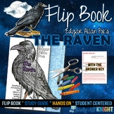 THE RAVEN, BY EDGAR ALLAN POE POETRY LITERATURE GUIDE FLIP BOOK
