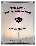 The Raven by Edgar Allan Poe Lesson Plans, Worksheets with Key