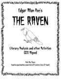 The Raven by Edgar Allan Poe - Poem Analysis Activity Stanza by Stanza