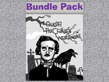 """The Raven"" by Edgar Allan Poe: Poetry Bundle Unit"