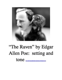 """""""The Raven"""" by Edgar Allen Poe:  Setting and Tone"""
