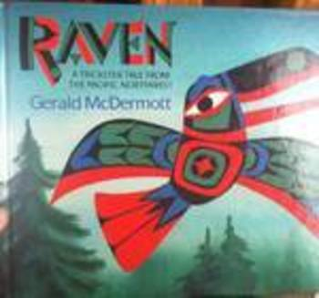 The Raven by Gerald McDermott   First Grade Book Study