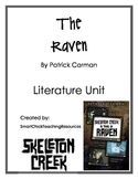 """""""The Raven"""", by P. Carman, Literature Unit (book # 4 of series)"""