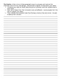 The Ravine Writing Task