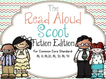 The Read Aloud Scoot Game Fiction Edition