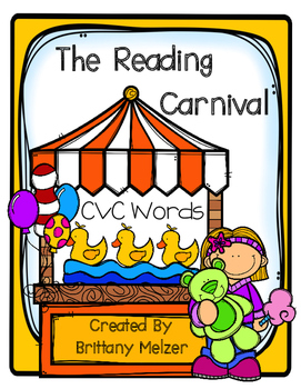 The Reading Carnival CVC Words
