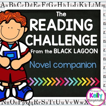 The Reading Challenge from the Black Lagoon Comprehension Novel study