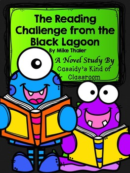 The Reading Challenge from the Black Lagoon Novel Study and Activity Set