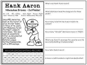The Reading Spread {April Edition: Baseball}