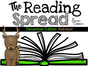 The Reading Spread {December Edition: Reindeer}
