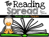 The Reading Spread {January Edition: Penguins}