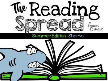 The Reading Spread {Summer Edition: Sharks}