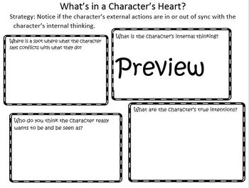 The Reading Strategies Book 6.23 What's in a Character's Heart?